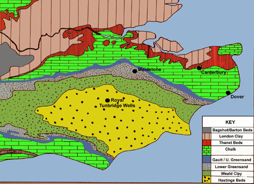 geological map of kent